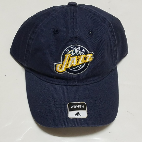 Utah Jazz Adidas NBA Women s Adjustable Slouch Hat 7137ce41a2